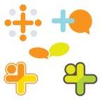 Vector Collectieve Emblemen Stock Foto