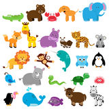 Vector Collection of Animals Royalty Free Stock Photography