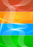 Vector collection banners Stock Image