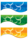 Vector collection of banners. Abstract Background for web banner Vector illustration Royalty Free Stock Image
