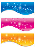 Vector collection of banners. Abstract Background for web banner Vector illustration Royalty Free Stock Photo