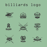 Vector collection of billiard logo. Stock Photo