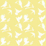 Vector Collection of Bird Silhouettes Royalty Free Stock Photography