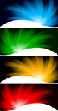 Vector collection bright banners Stock Photo