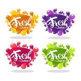 Vector collection of bright bubbles frames  stickers, emblems an Stock Photography