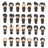 Vector collection business characters Stock Photo
