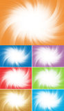 Vector collection colorful background stock images