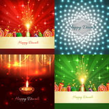 Vector collection of diwali crackers background illustration vector illustration