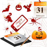 Vector Collection for Halloween Stock Photo