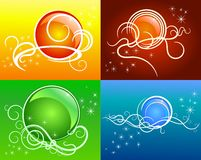 Vector collection of hand draw illustration Royalty Free Stock Photos