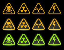 Vector collection of industrial icons Royalty Free Stock Images