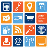 Vector collection: internet icons Stock Images