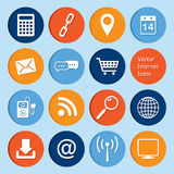 Vector collection: internet icons Royalty Free Stock Photo