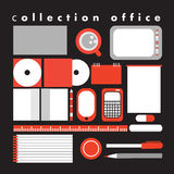 Vector collection office Royalty Free Stock Images