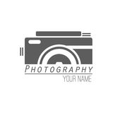 Vector collection of photography logo templates. Photocam logotypes. Photography vintage badges and icons. Photo labels. Stock Image