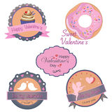 Vector collection of valentines day design Stock Images