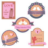 Vector collection of valentines day design Stock Photo