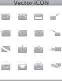 Vector collection web icon. Set pictogram Royalty Free Stock Photography