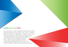 Vector color background abstract polygon triangle Royalty Free Stock Photography