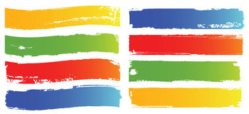 Vector color banners set Royalty Free Stock Image