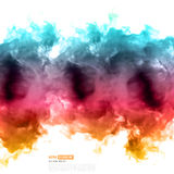 Vector color cloud Royalty Free Stock Photos