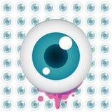 Vector color eye design Stock Photo