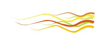 Vector color lines background. Vector color wave lines background Stock Images