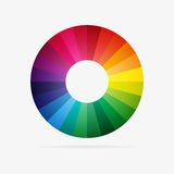 Vector color spectrum Stock Images