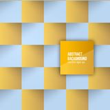 Vector color squares. Abstract background Royalty Free Stock Photo