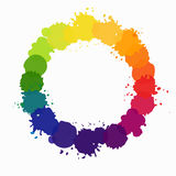 Vector color wheel Stock Photos