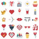 Vector coloreado iconos del vector e iconos aislados libre illustration
