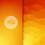 Vector colored background with summer text Royalty Free Stock Image
