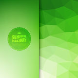 Vector colored background with summer text Royalty Free Stock Images