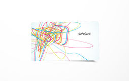 Vector colored business card. Royalty Free Stock Photos
