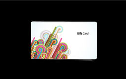 Vector colored business cards. Royalty Free Stock Photos