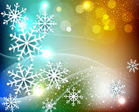 Vector colored christmas background Royalty Free Stock Photo