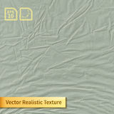 Vector colored crumpled polyethylene bag film photo texture. Stock Photo