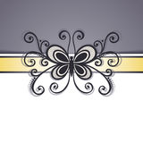 Vector Colored Floral Background Royalty Free Stock Photos