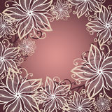 Vector Colored Floral Background Stock Photos