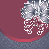 Vector Colored Floral Background Stock Photo