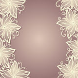 Vector Colored Floral Background Royalty Free Stock Photography