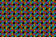 Vector colored matting fiber seamless pattern Stock Image
