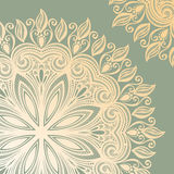 Vector Colored Ornate Backgrounds Stock Images