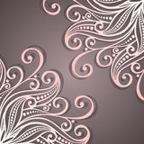 Vector Colored Ornate Backgrounds Royalty Free Stock Photography