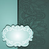 Vector Colored Ornate Backgrounds Royalty Free Stock Image