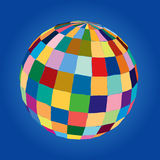 Vector colored sphere Royalty Free Stock Images