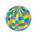 Vector colored sphere Stock Images