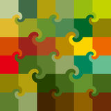 Vector colored swirl squares pattern royalty free stock images