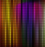 Vector colorful abstract metallic Royalty Free Stock Photography