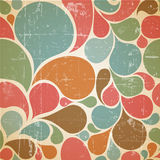 Vector Colorful abstract retro  pattern Royalty Free Stock Photography
